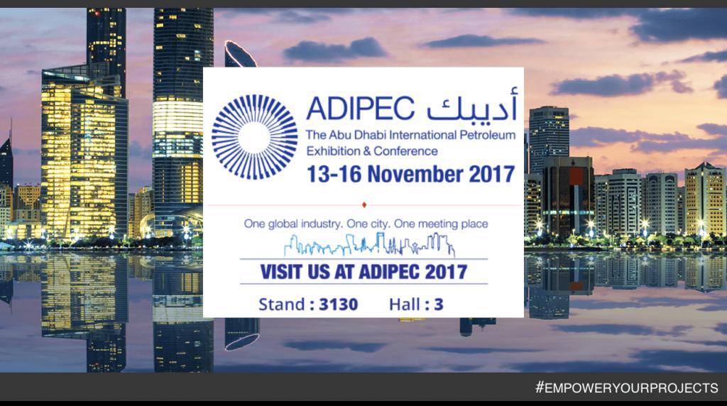 Du 13 au 16 Nov, nous vous attendrons au « Salon ADIPEC » à Abu Dhabi !