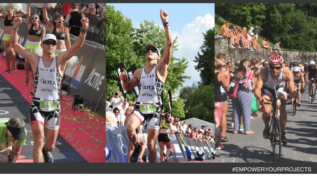 Nous avons fièrement soutenu Bruno, notre Brillant Consultant Acheteur Projet, qui a participé à l'Ironman de Zurich !