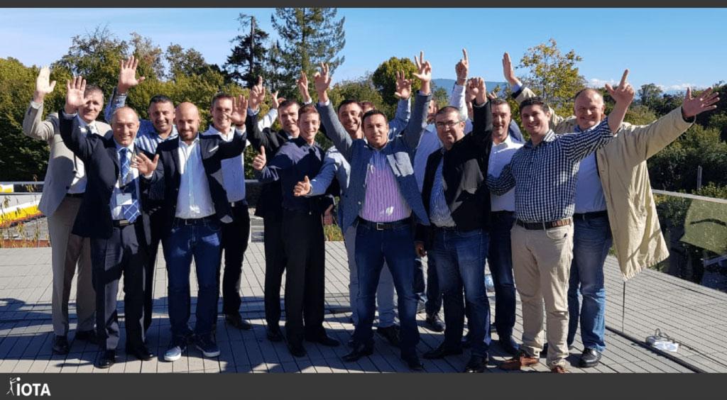 Nos équipes du monde entier se sont réunies à Genève !
