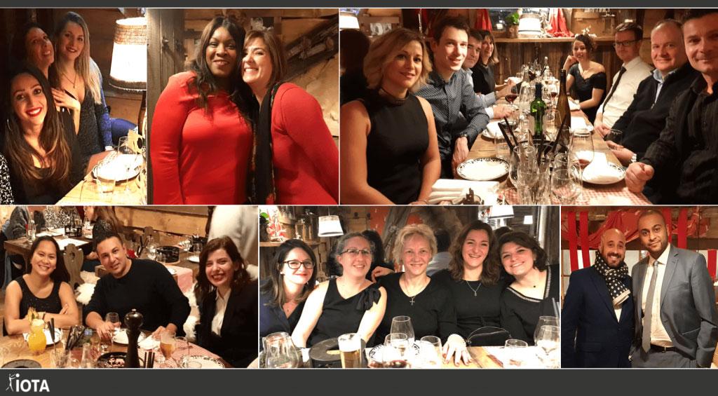 Les équipes de IOTA Group étaient ensemble pour célébrer la période des fêtes !