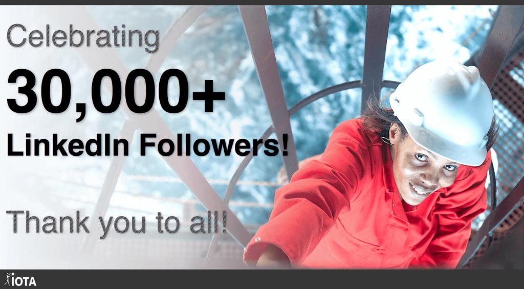 Aujourd'hui, nous célébrons nos 30 000 abonnés sur LinkedIn ! Merci à tous de nous suivre !