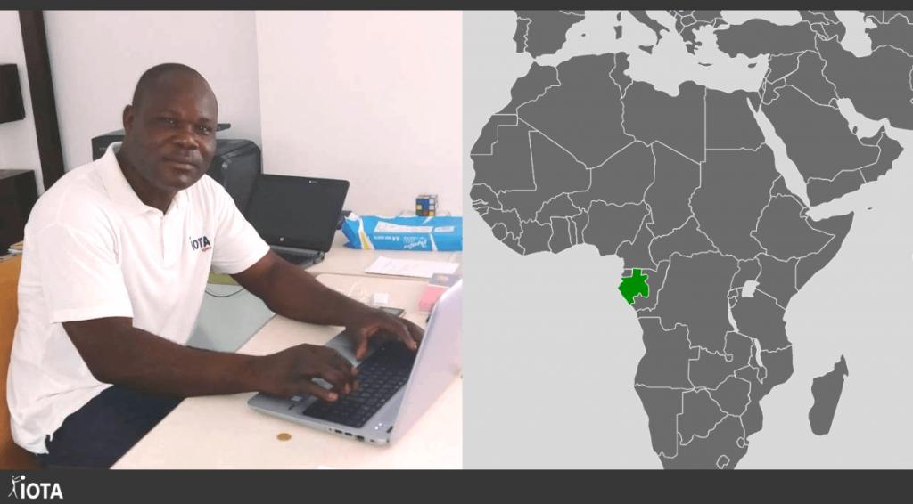 Brice, Officier Logistique, véritable Ambassadeur de notre marque au Gabon !