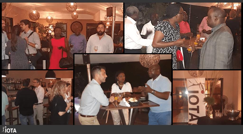 Les équipes du Gabon, du Congo et du Sénégal étaient ensemble à Pointe-Noire, pour l'inauguration des nouveaux bureaux de IOTA Congo !