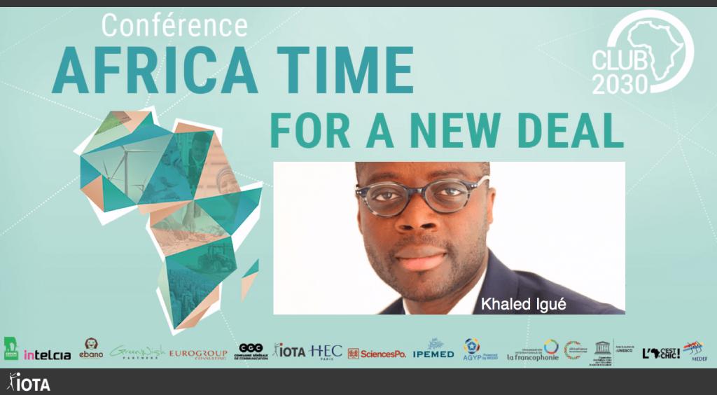 Félicitations à Khaled Igué, fondateur du think-tank « Club 2030 Afrique », désigné par le World Economic Forum de Davos « Lauréat des Young Global Leaders ». Nous sommes fiers d'être partenaire de l'aventure « Club 2030 Afrique » !