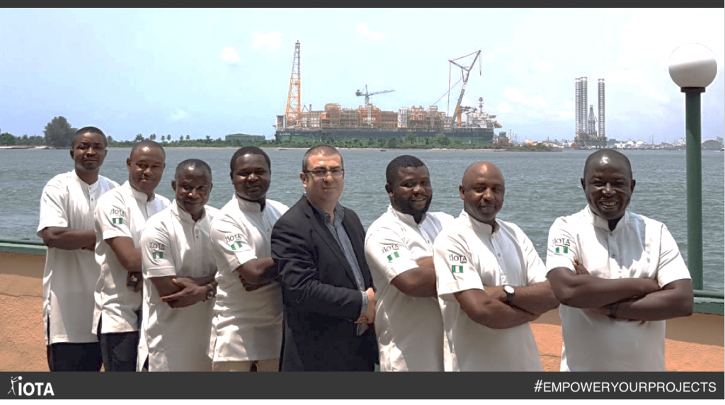 From the FPSO EGINA, our Nigeria team wishes you a great week!