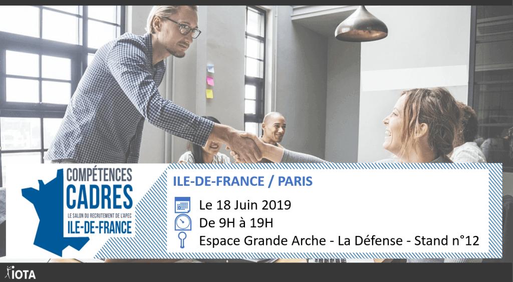 Le 18 juin, nous vous attendrons au Salon « APEC Paris » à l'Espace Grande Arche – La Défense !
