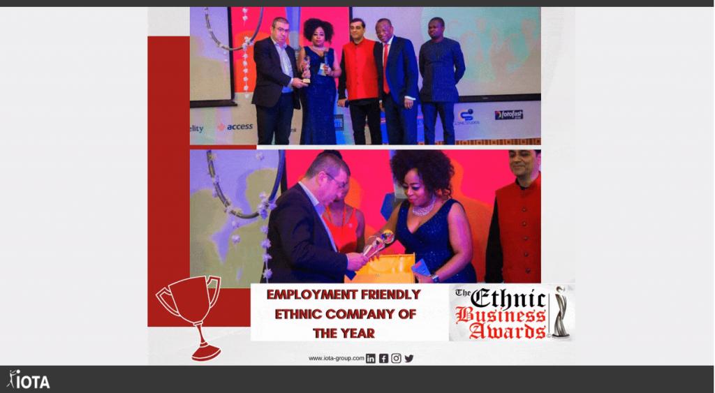 [Récompense] 🏆Entreprise ethnique de l'année favorable à l'emploi